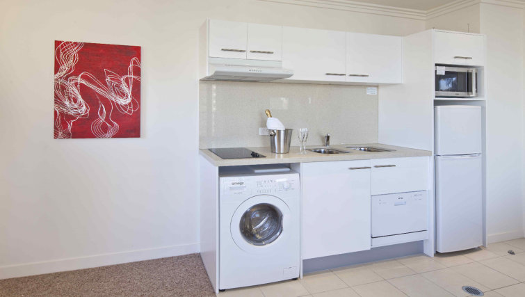 Kitchen at the Quest South Brisbane - Citybase Apartments
