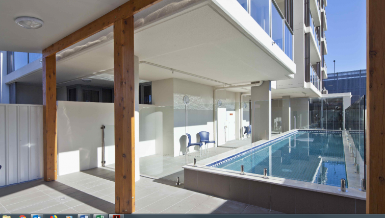 Pool at the Quest South Brisbane - Citybase Apartments