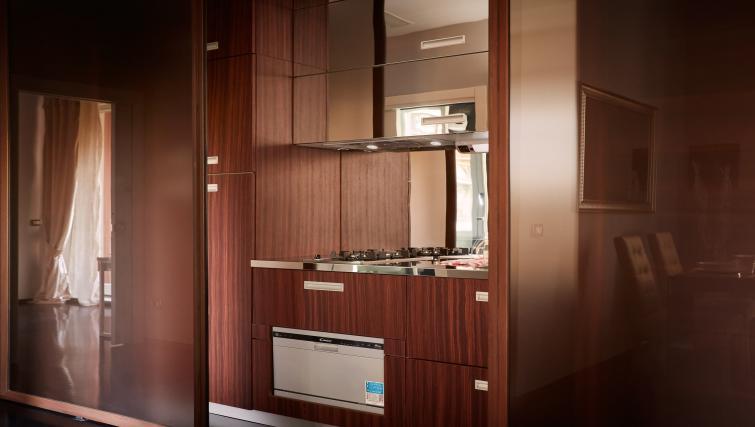 Kitchen at Turati Apartment - Citybase Apartments