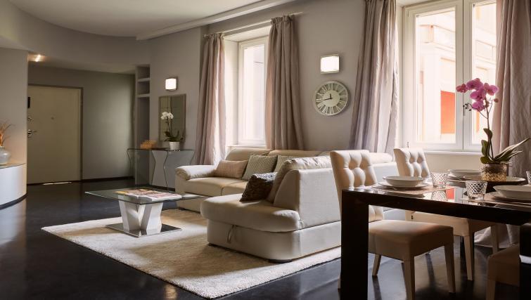Living room at Turati Apartment - Citybase Apartments