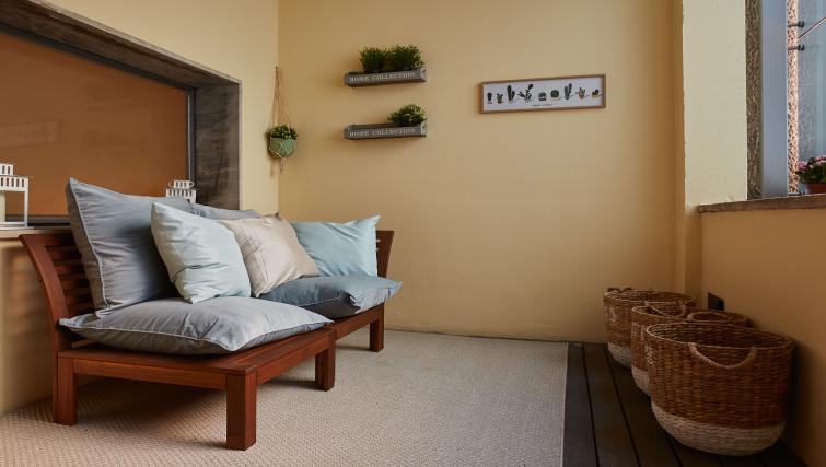 Chair at Turati Apartment - Citybase Apartments