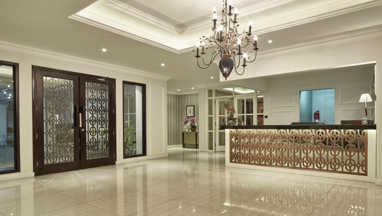 Reception at the Mansion28 Darmawangsa Apartments - Citybase Apartments