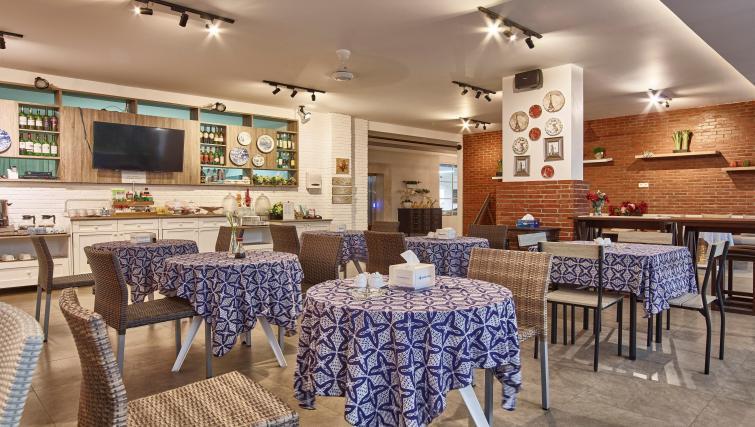 Dining area at the Mansion28 Darmawangsa Apartments - Citybase Apartments