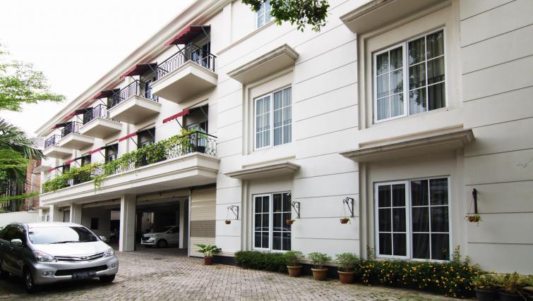 Exterior at the Mansion28 Darmawangsa Apartments - Citybase Apartments