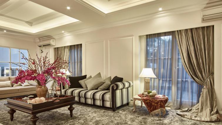 Lobby at the Mansion28 Darmawangsa Apartments - Citybase Apartments
