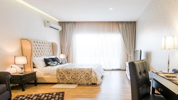 Bedroom at the Mansion28 Darmawangsa Apartments - Citybase Apartments