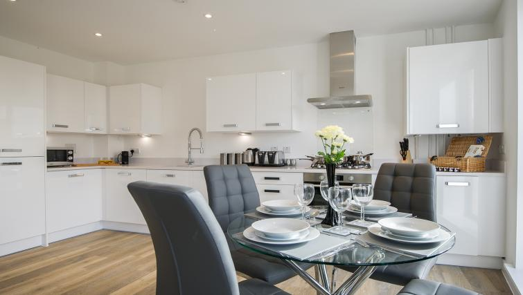 Kitchen at the De Havilland House Apartments - Citybase Apartments