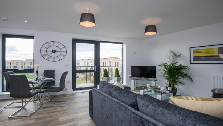 Lounge at the De Havilland House Apartments - Citybase Apartments
