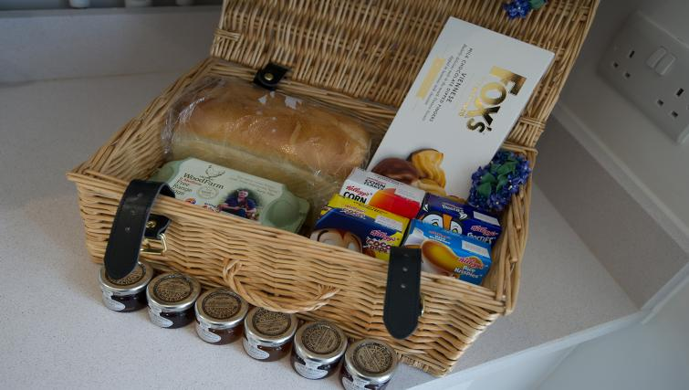 Welcome pack at the De Havilland House Apartments - Citybase Apartments