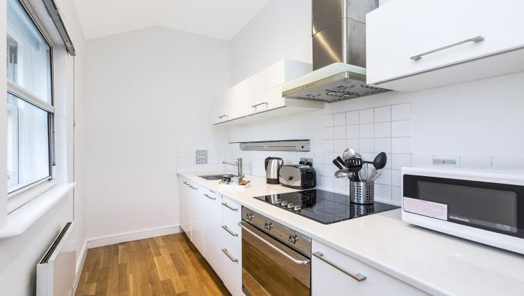 Kitchen facilities at the Kings Cross Apartment - Citybase Apartments