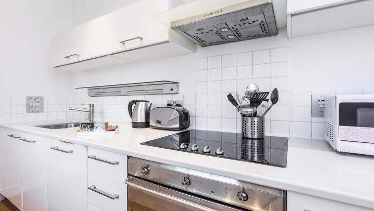 Kitchen at the Kings Cross Apartment - Citybase Apartments