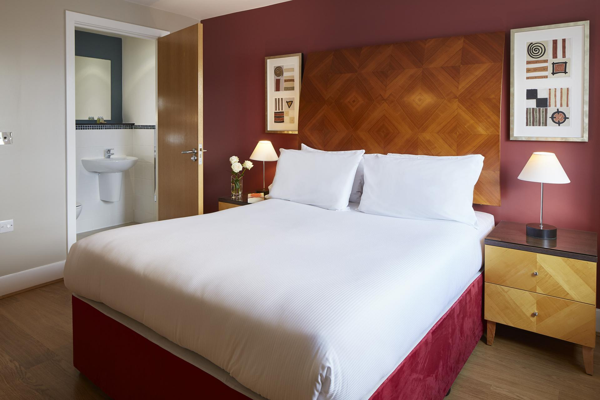 Bedroom at Limehouse Apartments, Limehouse, London - Citybase Apartments