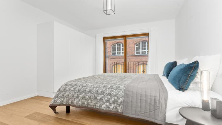 Bed at the STAY Kastellet Apartments - Citybase Apartments