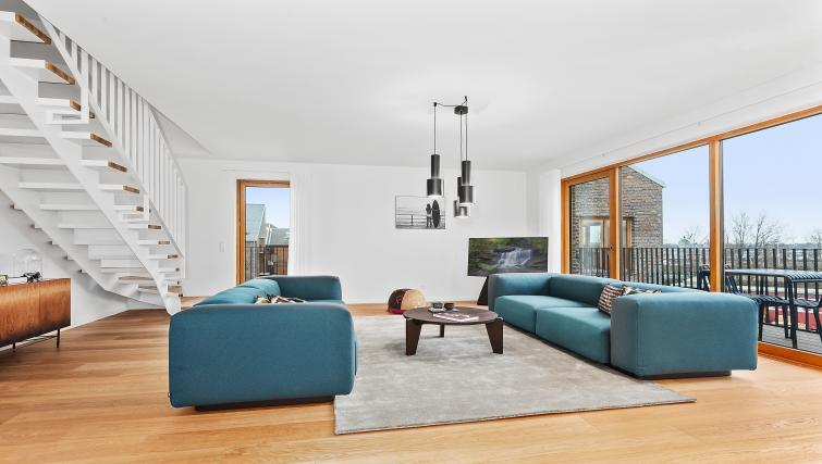 Living area at the STAY Kastellet Apartments - Citybase Apartments