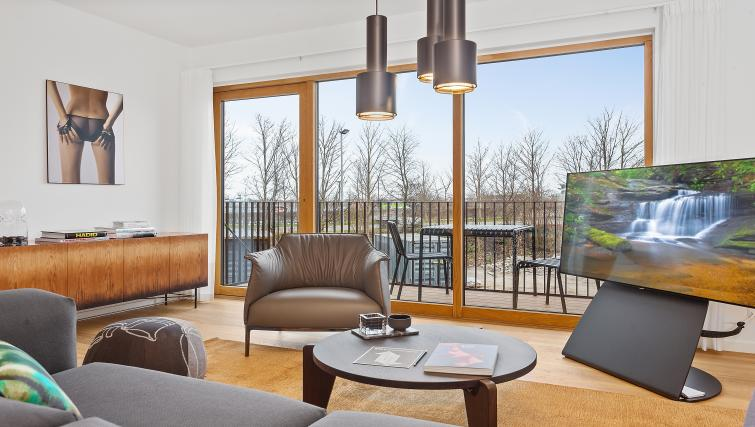Living room at the STAY Kastellet Apartments - Citybase Apartments