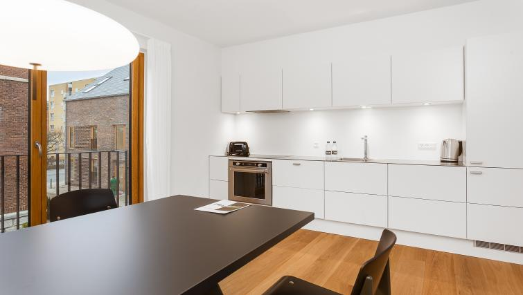 Kitchen at the STAY Kastellet Apartments - Citybase Apartments