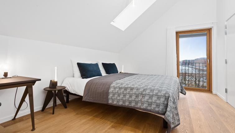 Bedding at the STAY Kastellet Apartments - Citybase Apartments