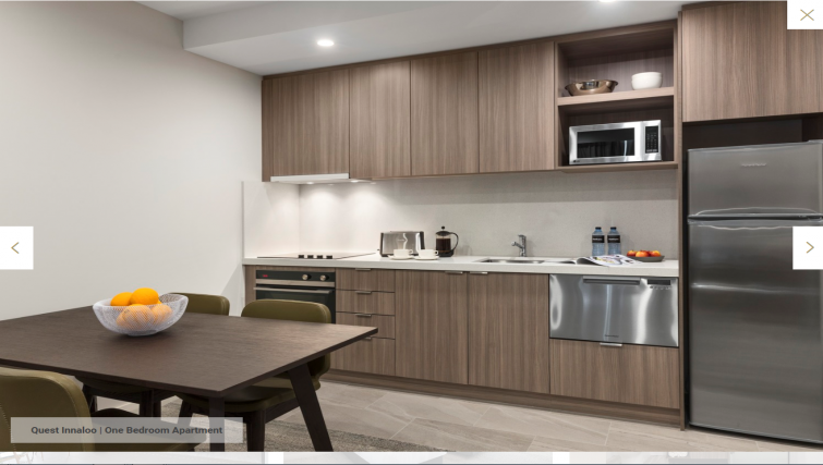 Kitchen at Quest Innaloo Apartments - Citybase Apartments