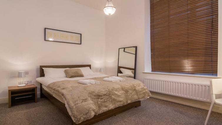 Bedroom at 1 Fitzrovia Apartments - Citybase Apartments
