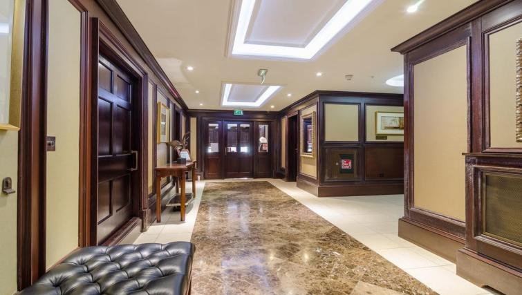Entrance at Custom House Square Apartment - Citybase Apartments