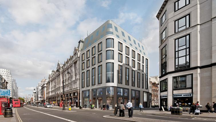 Exterior at the Wilde Aparthotel by Staycity - The Strand - Citybase Apartments