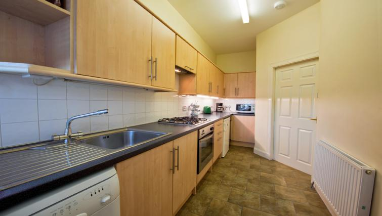Kitchen at the Pierhead Apartment - Citybase Apartments