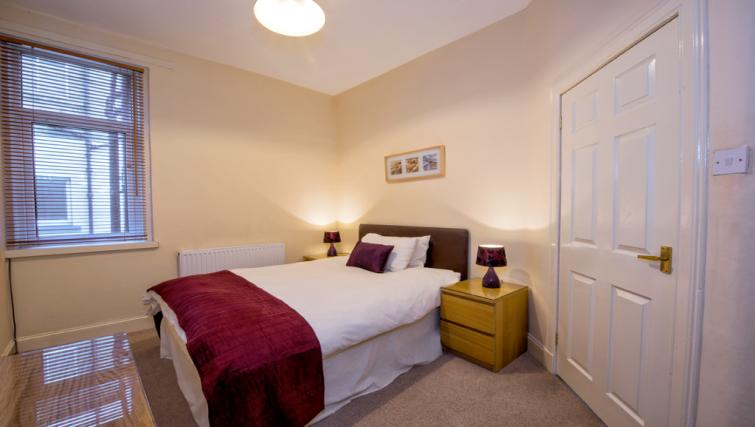 Bedroom at the Pierhead Apartment - Citybase Apartments