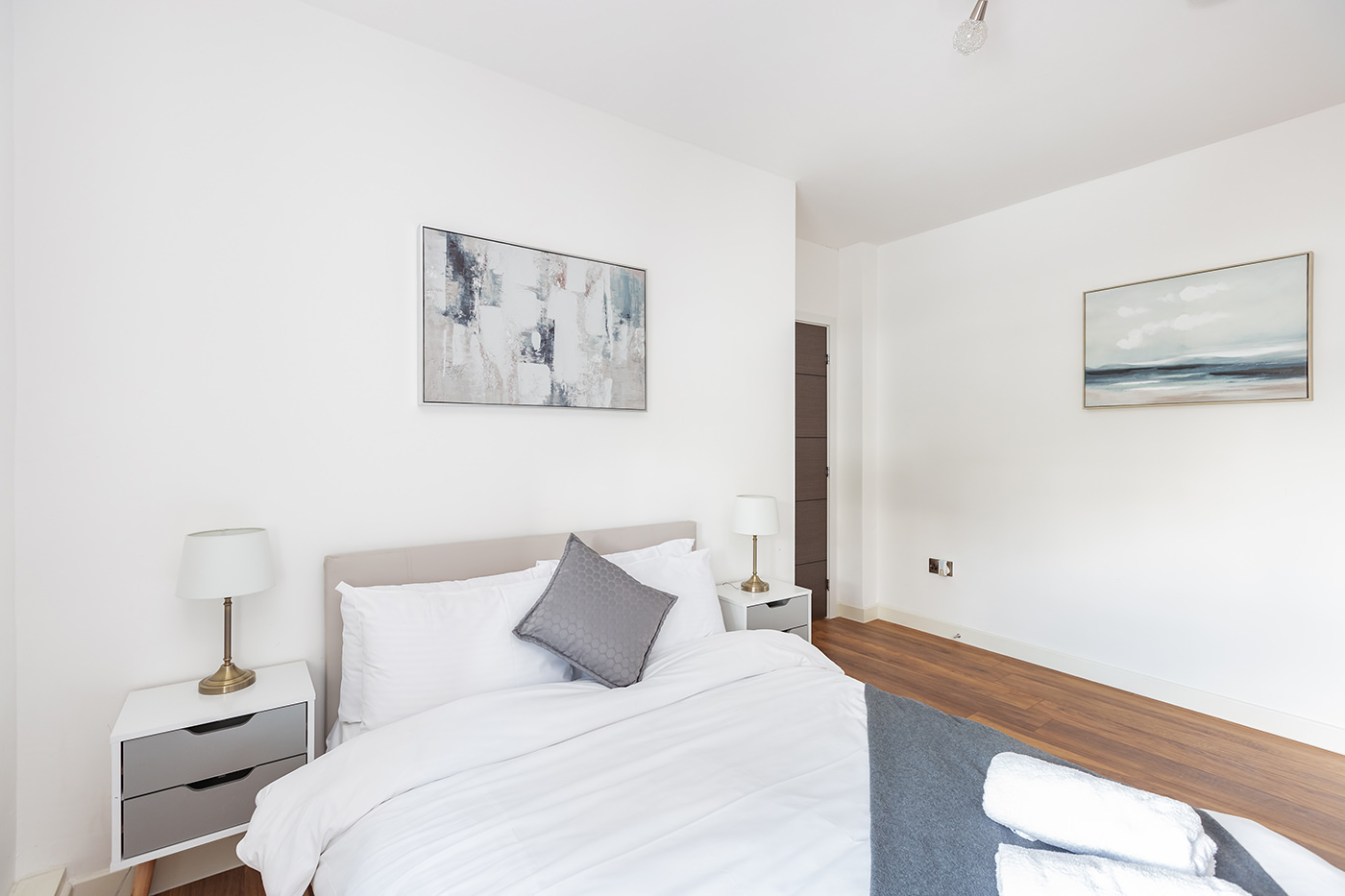 Bed at Manhattan Heights Apartments, Centre, Maidstone - Citybase Apartments