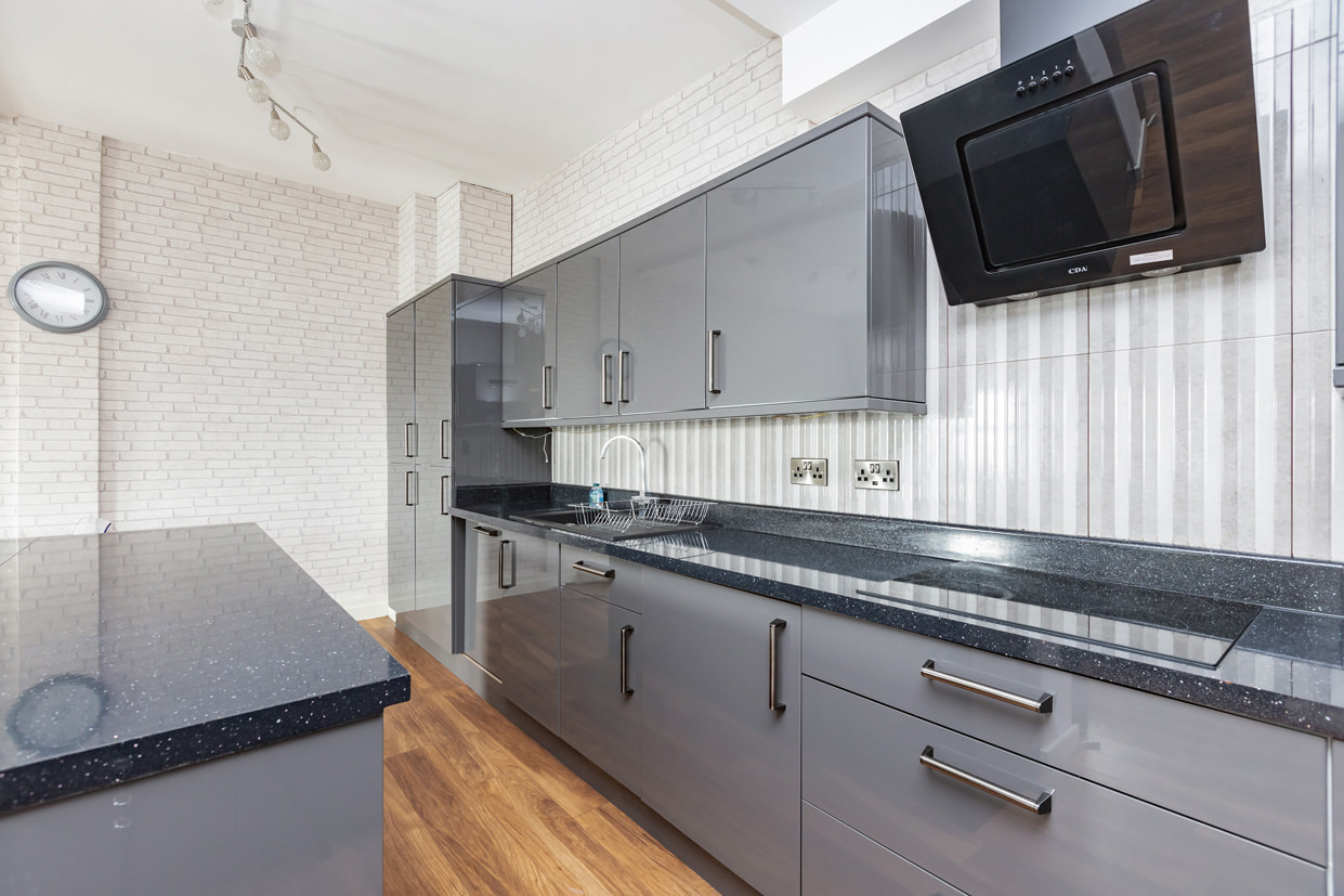 Worktops at Manhattan Heights Apartments, Centre, Maidstone - Citybase Apartments