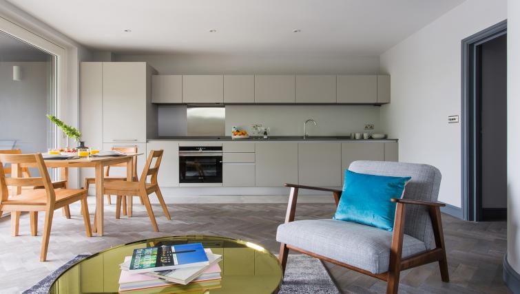 Equipped kitchen at Alexandra Road Apartments - Citybase Apartments