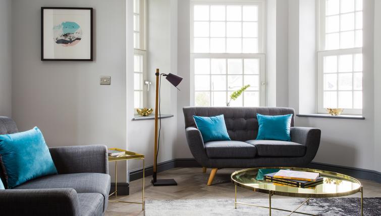 Sofa at Alexandra Road Apartments - Citybase Apartments