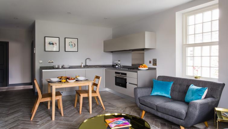 Kitchen at Alexandra Road Apartments - Citybase Apartments