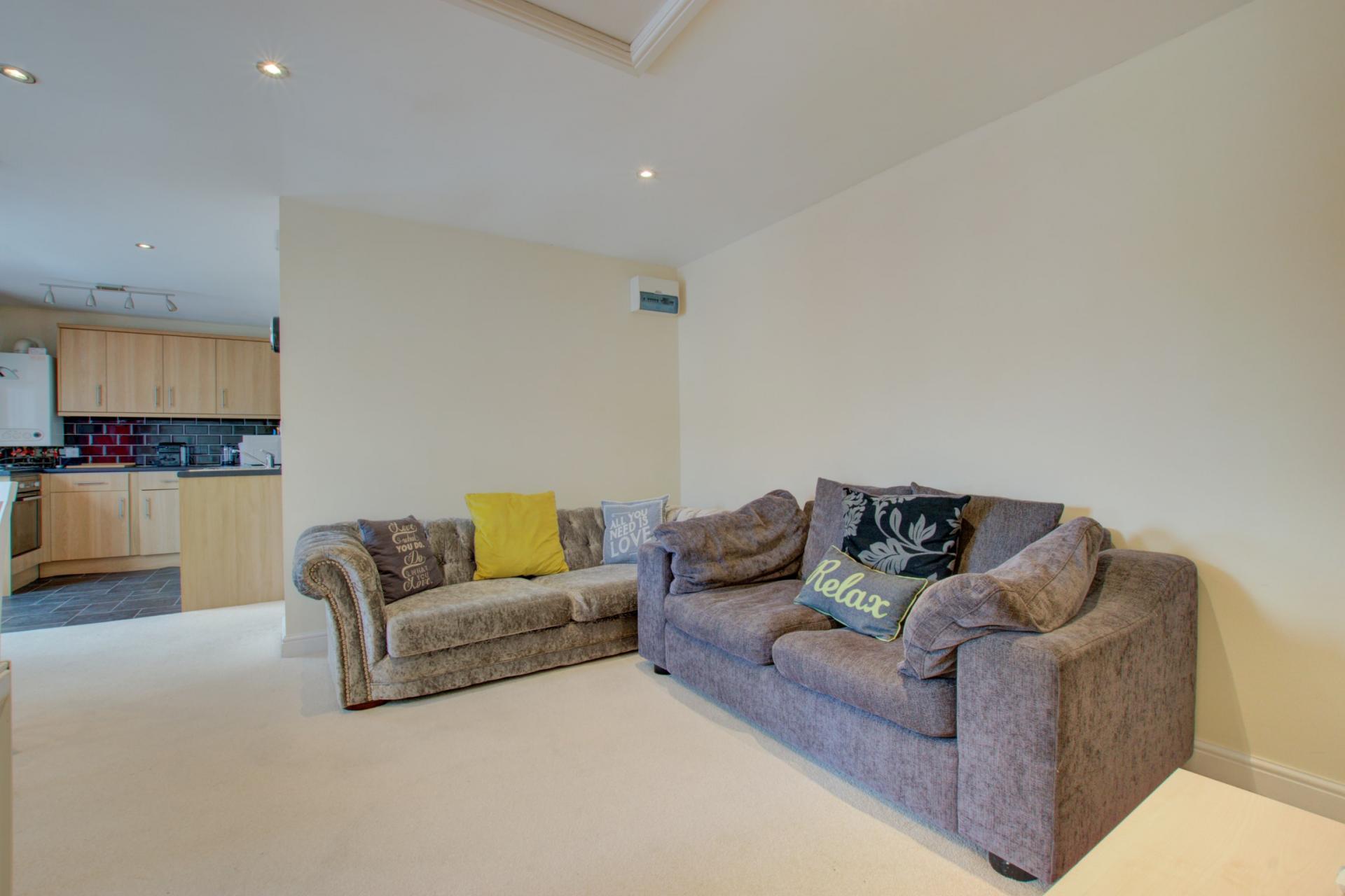 Sofa at Sherlock Holmes Apartments - Citybase Apartments