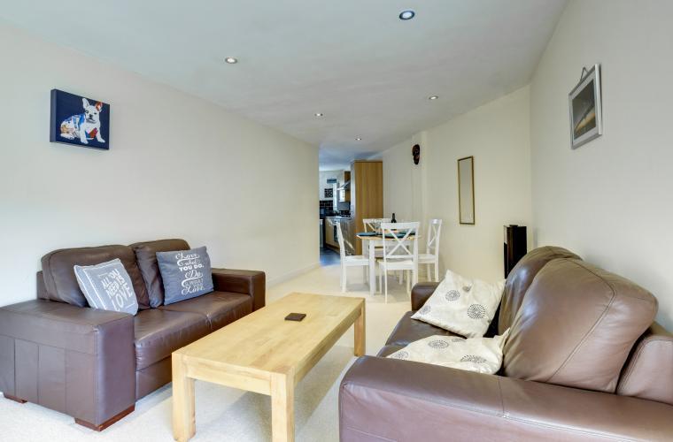 Coffee table at Sherlock Holmes Apartments - Citybase Apartments