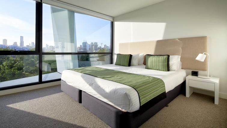Large Bedroom at the 381 Cremorne Apartments - Citybase Apartments