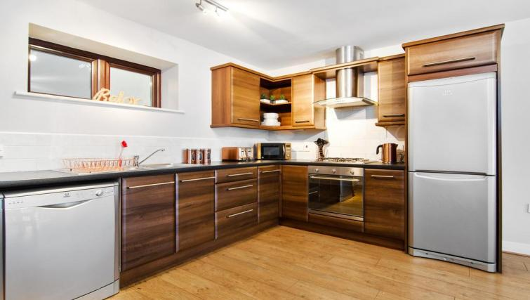 Kitchen at Winter Gardens Apartment - Citybase Apartments