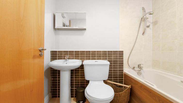 Bathroom at Winter Gardens Apartment - Citybase Apartments