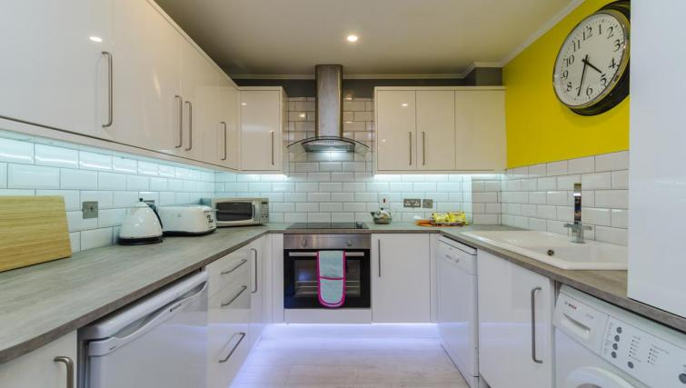 Kitchen at the Citygate Apartment - Citybase Apartments
