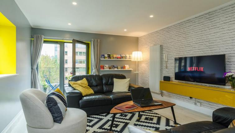 Living room at the Citygate Apartment - Citybase Apartments