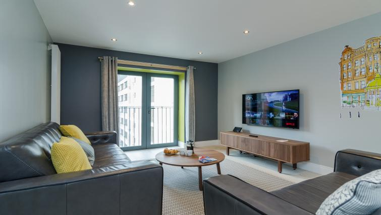 Lounge at the Citygate Apartment - Citybase Apartments