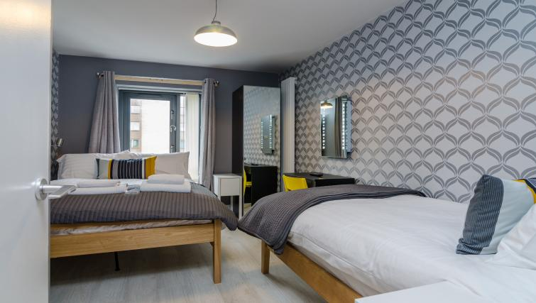 Comfortable bedroom at the Citygate Apartment - Citybase Apartments