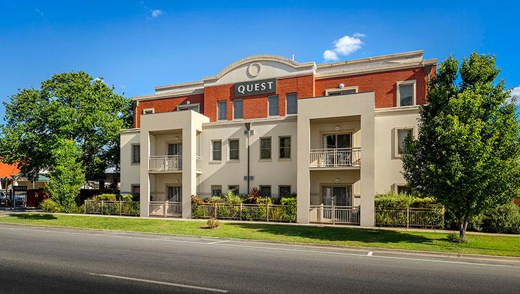 Exterior of Quest Echuca Apartments - Citybase Apartments