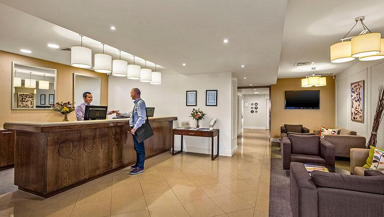 Reception at Quest Echuca Apartments - Citybase Apartments