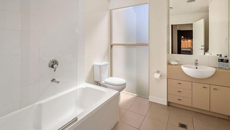 Bath at Quest Echuca Apartments - Citybase Apartments