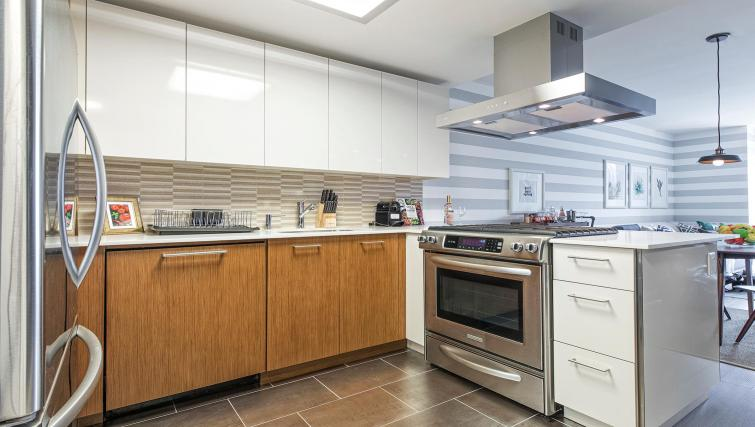Kitchen at MiMa, Hell's Kitchen Apartment - Citybase Apartments