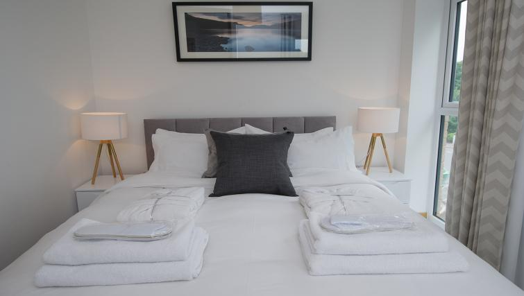 Beds at the Flamsteed Executive Townhouse - Citybase Apartments