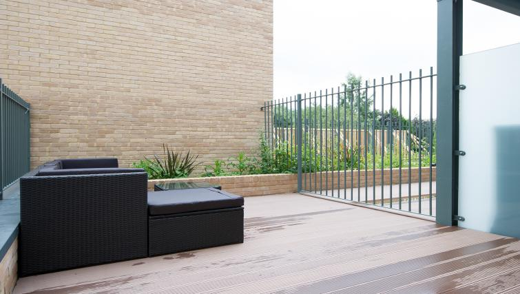 Garden at the Flamsteed Executive Townhouse - Citybase Apartments