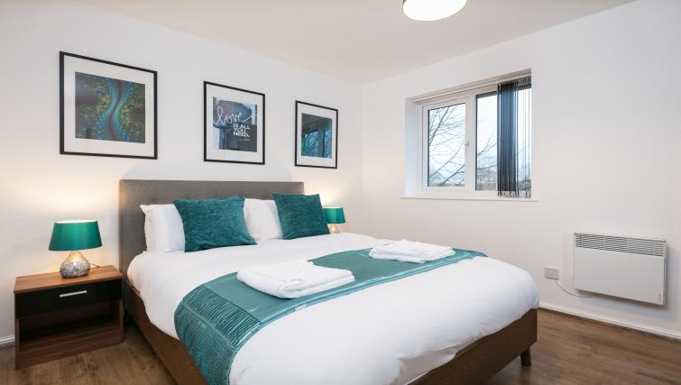 Bedroom at The Riverside Apartment - Citybase Apartments
