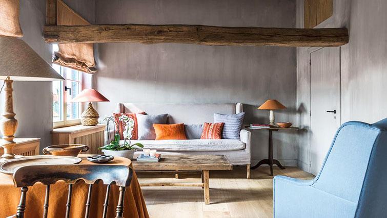 Lounge at the Katelijne Apartment - Citybase Apartments