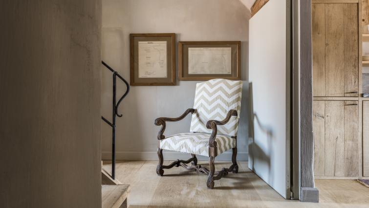 Chair at the Katelijne Apartment - Citybase Apartments